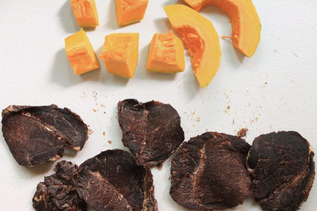 S1B3. 南瓜牛肉片70g