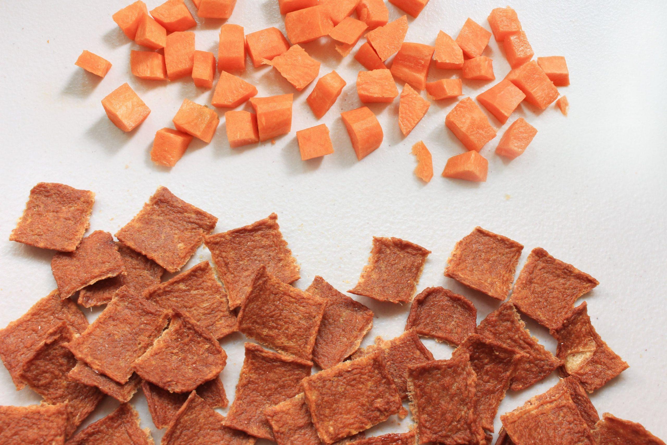 S3F1. 紅蘿蔔虱目魚脆餅75g
