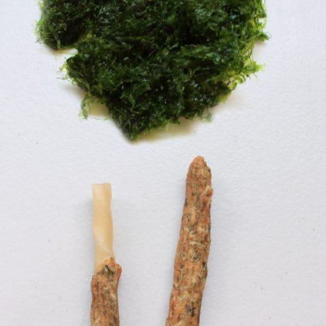 S4F2. 海藻虱目魚皮骨捲10支