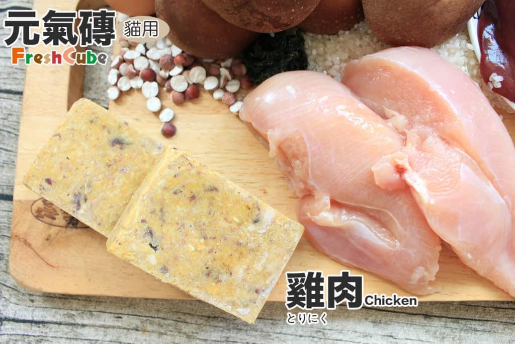 寵物鮮食元氣磚貓_雞肉_3