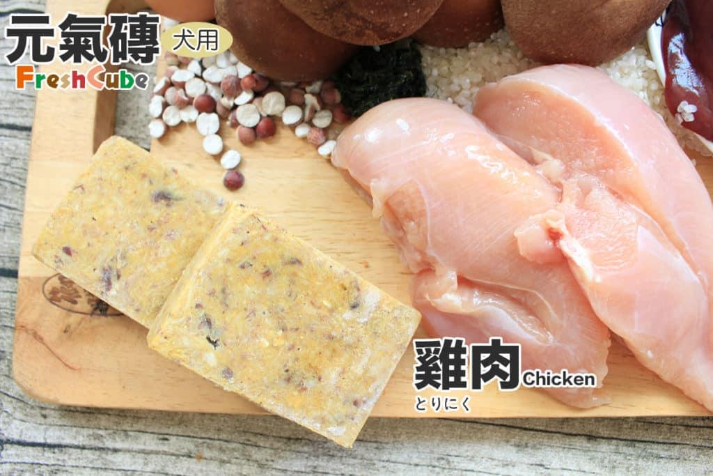 寵物鮮食元氣磚狗_雞肉_1